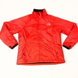 The North Face Red Full Zip Winter Jacket Large